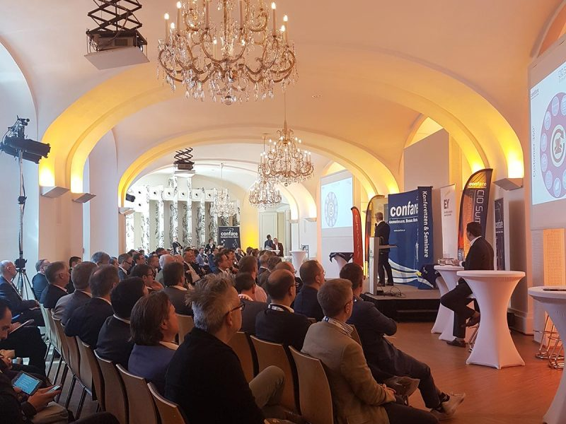 Vortrag bei CIO Summit am 11.4.2018, veranstaltet von Confare - mundwerk.wien, Karin Stopa